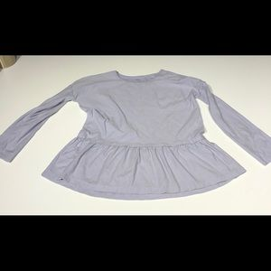 Tea Collection lavender long sleeve top